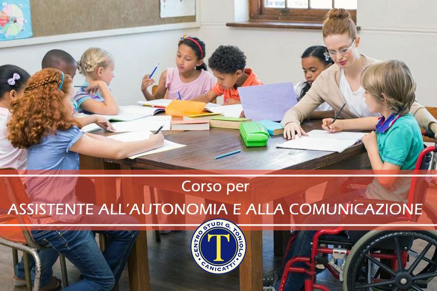 ASSISTENTE ALL'AUTONOMIA E ALLA COMUNICAZIONE DEI DISABILI (As.A.Com.)