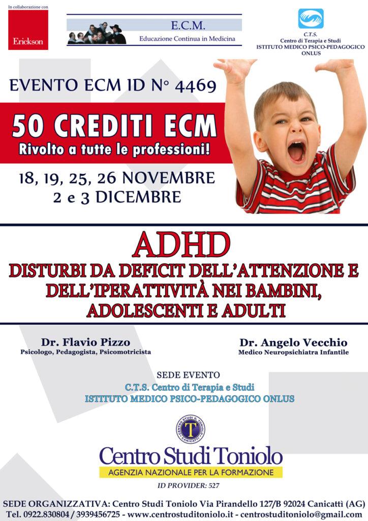 ADHD: Disturbi da deficit dell'attenzione e dell'iperattività nei bambini, adolescenti e adulti